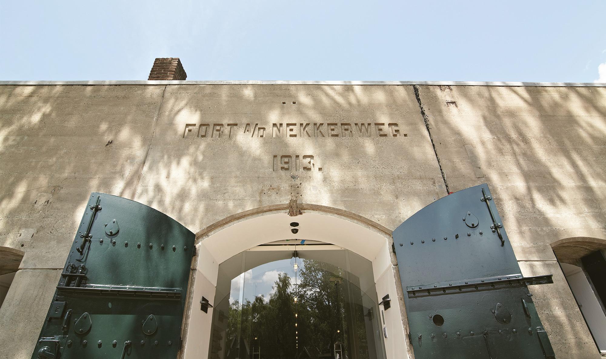 Fort Resort Beemster entrance