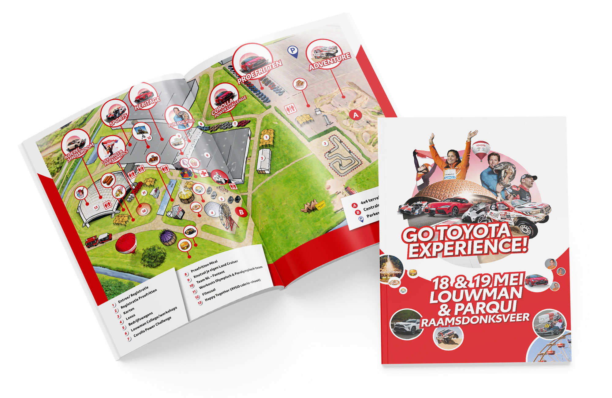 GO Toyota Experience 2019 - programm folder