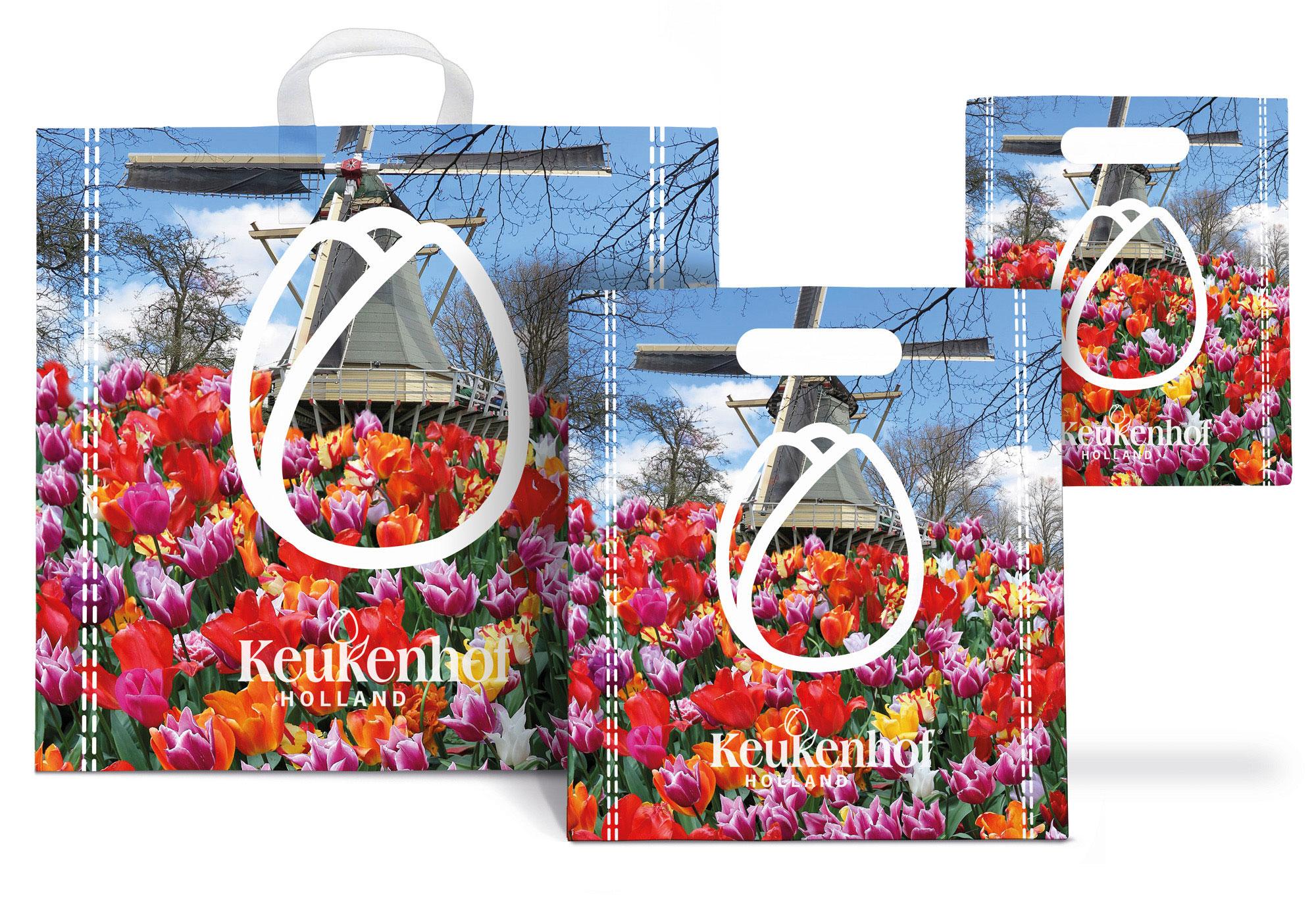 Keukenhof - plastic bags