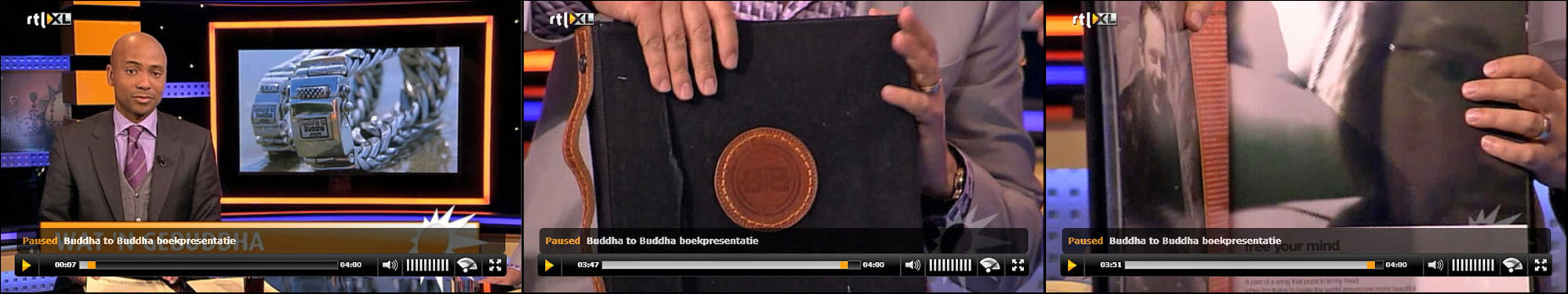 Buddha to Buddha - book on TV